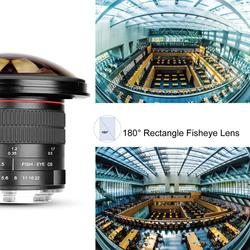 Meike 8mm F3.5 Ultra HD Fisheye manual Lens for Nikon F Mount D7100 D5300 D750 D3100 D3200 D5100 D90 DSLR Camera APS-C/Full-Fram