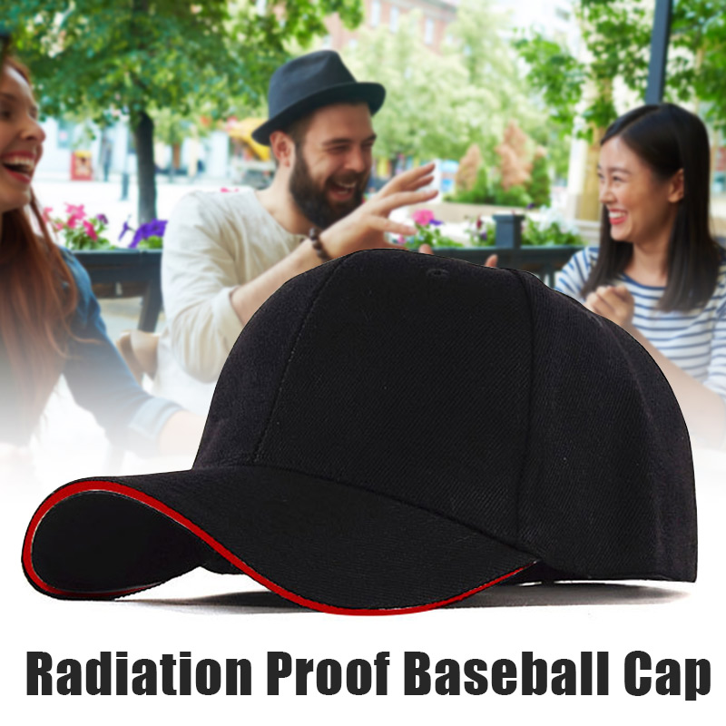 Unisex EMF Radiation Protection Baseball Cap Rfid Shielding Electromagnetic Hat @M23