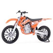 Welly 1:18 KTM 450SX-F литые автомобили, коллекционные хобби модель мотоцикла, игрушки
