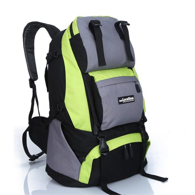 Backpack School-Bag Cross-Border Waterproof Nylon Camping for Mountaineering-Bag Hiking