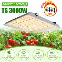 New Arrival Mars Hydro TS 3000W sunlike spectrum led grow light full spectrum for Veg Bloom hydroponic