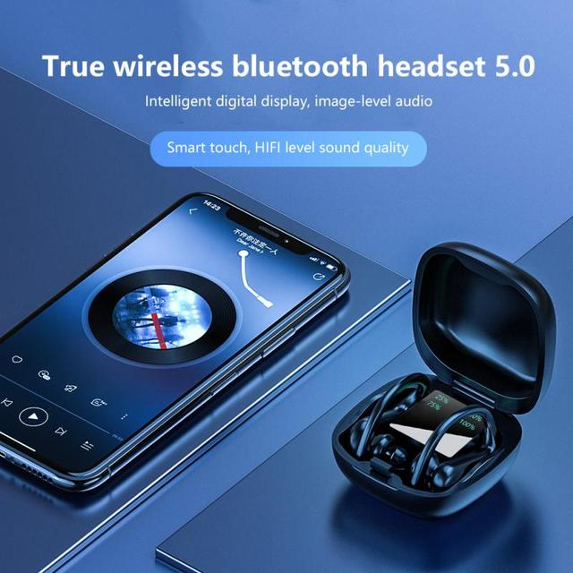 Bluetooth Earphone Wireless Headphone With High-definition Microphone 4