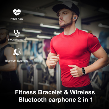 2 In 1 Bluetooth Sport Smart Watch