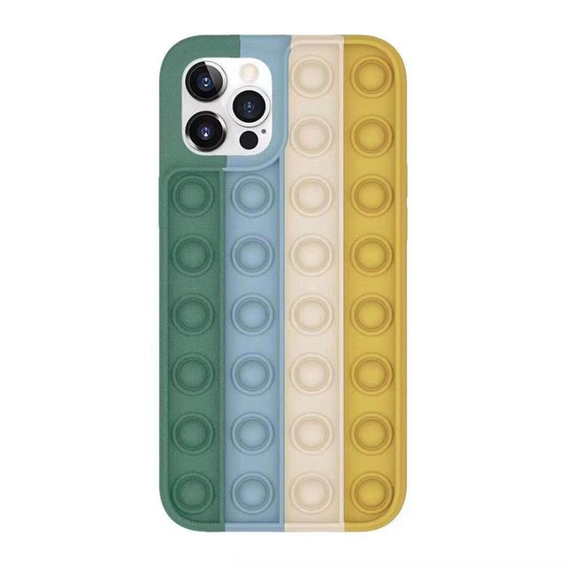 Pop Fidget Bubble Silicone Phone Case For iPhone - For iphone 7 Plus, 1699-D-1