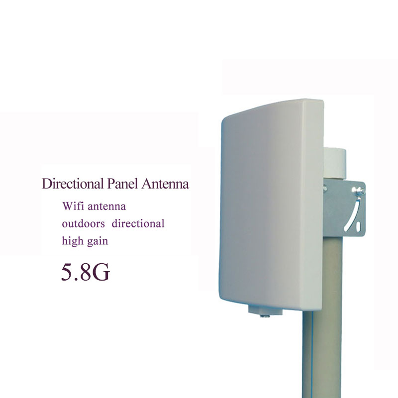 5.8G Wifi Antenna Outdoor Direct Panel Antenna 14dBi High Gain N Female Connector Wall Mount Patch Panel Flat Internet Antenna