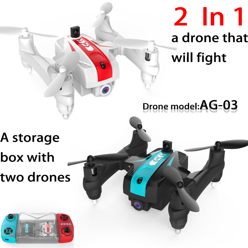 Battle-Drone Wifi Quadcopter Altitude Foldable Hd-Camera Mini Infrared 2in1 With 720P