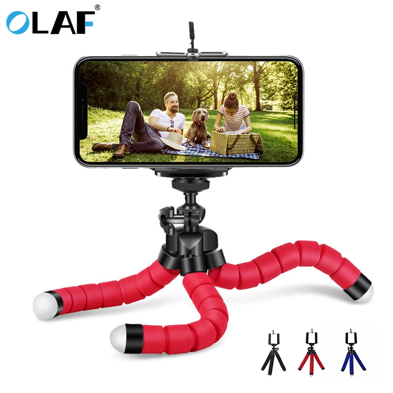 Octopus Tripod Phone Holder Flexible Stand For IPhone X 8 7 Mobile Phone Holder For Samsung Galaxy S9 S8 Plus Camera Stand