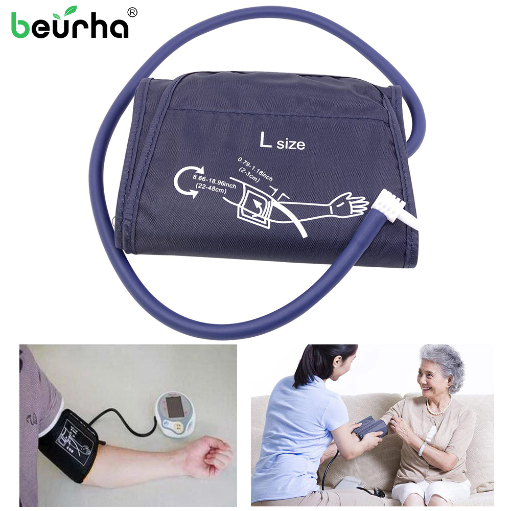 Patient Monitor Arm-Cuff Sphygmomanometer Blood-Pressure-Monitor-Cuff Adult 1PC Single-Tube