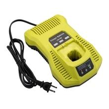 цена на 12V-18V Battery Charger P117 P118 For Ryobi Nicd Nimh Lithium Battery P100 P101 P102 P103 P105 P107 P108 P200 1400670 Power Tool