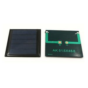 Image 2 - 2 adet 2.5V 110mA polikristal GÜNEŞ PANELI silikon epoksi standart pil güç şarj modülü küçük Mini güneş pili