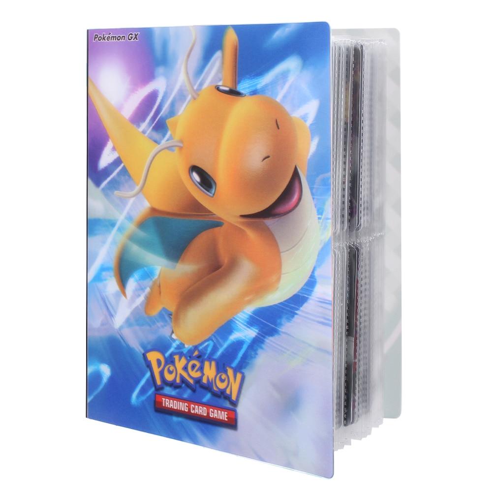Альбом-держатель для коллекций игрушек, 240 шт., альбом для карт Pokemon, книга, список топ-загруженных игрушек, подарок для детей