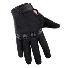 Tactical Training Gloves Full Finger Fishing Gloves Anti-Slip Rubber Mittens Hunting Camping Cycling Camouflage Outdoor Sport  M стоимость