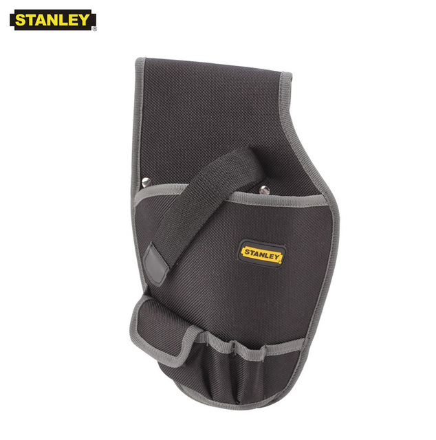 Stanley 1pcs cordless drill holster for screwdriver pouch holder durable small electrical bag on tools nylon pistol tool bags 1