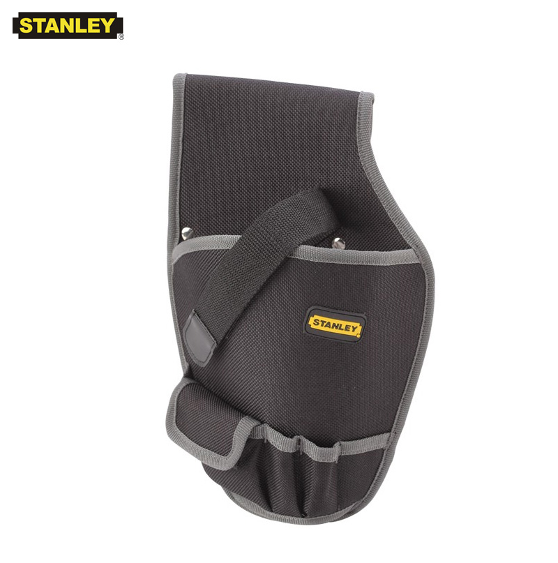 Stanley 1pcs Cordless Drill Holster For Screwdriver Pouch Holder Durable Small Electrical Bag On Tools Nylon Pistol Tool Bags