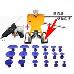 Outils de réparation de Dent sans peinture Kit de réparation de Dent extracteur de Dent de voiture avec 18 pièces