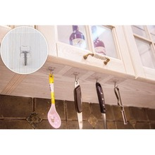 Kitchen hook storage strong seamless seamless paste suction cup waterproof stainless steel small hook