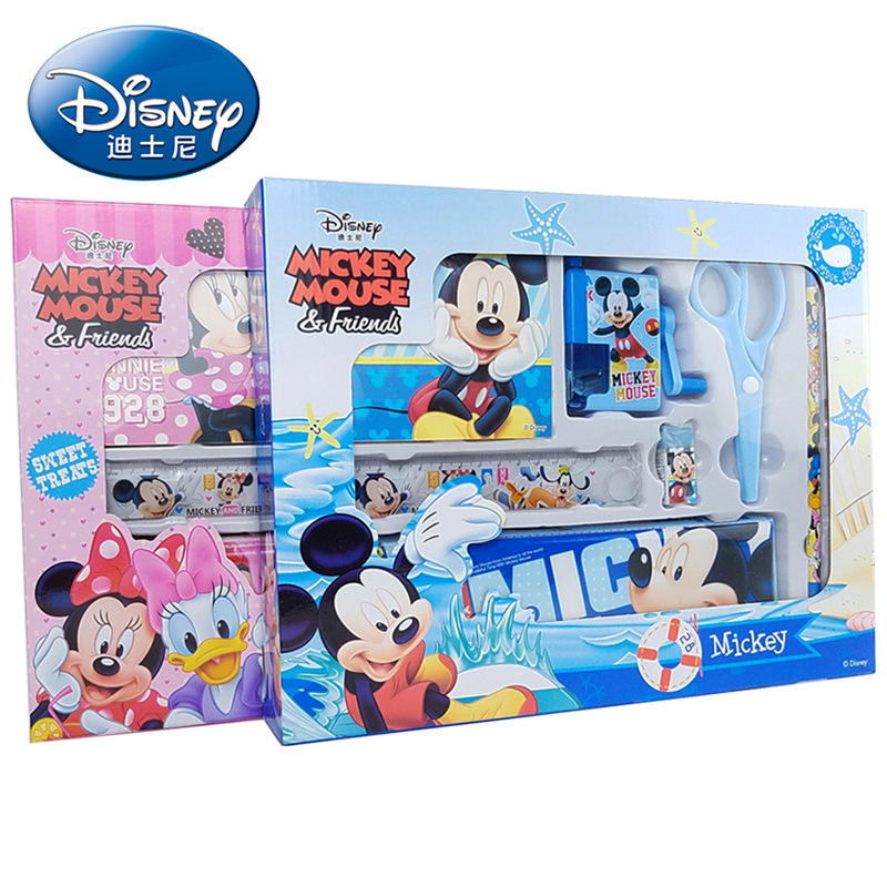 New Products Hot Selling Genuine Stationery Set Students Prizes Scriptum Children Holiday Gifts Stationery Set