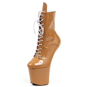 Image 2 - Jialuowei Funtasmaเซ็กซี่Fetishสิทธิบัตรรองเท้าส้นสูงแพลตฟอร์มฮาโลวีนบัลเล่ต์รองเท้าเหมาะสำหรับฮาโลวีน,Goth,Abby,vamp Plusขนาด