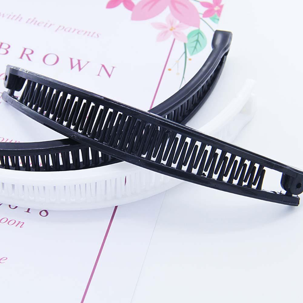 New Hair Claws Clip Fish Shape Banana Barrettes Black Brown Hairpins Hair Accessories For Women Hair Clip Clamp Hair StylingTool