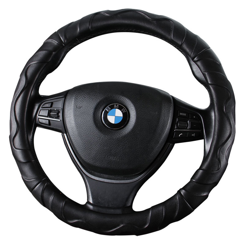 Car Steering <font><b>Wheel</b></font> Cover D Shape Or Round For Mercedes smart forfour vito w639 <font><b>w124</b></font> w140 w163 w164 w166 w169 w176 w202 w246 image