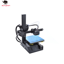 3D принтер S200, Новый, полностью собранный, с подогревом, 180x180x180 мм, встроенная пластина + предварительно загруженная карта MicroSD с 3D моделями для печати