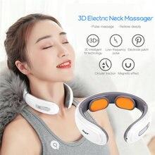 3d Электрический импульсный массажер для шеи и спины разминающий
