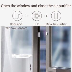 Image 2 - Xiaomi Deur Raam Sensor Smart Home Draadloze Schakelaar Alarm Systeem Zigbee Draadloze Sluit Werken Met Mijia Hub Mi Gateway 3