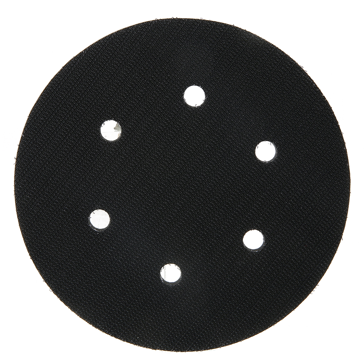 150mm Backing Pad 6'' 6 Hole Soft Foam Interface Cushion Pad Hook And Loop Protecting Sanding Disc Power Sander Protection Tools