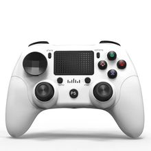 Wireless Bluetooth Game Controller Joystick Gamepad for PS4/PC/Mobile Phones L9BA high performance mobile phones app solar controller inverter wireless controller