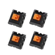 4Pcs Orange RGB Schalter Mechanische Tastatur Schalter für Razer Chroma Tastatur