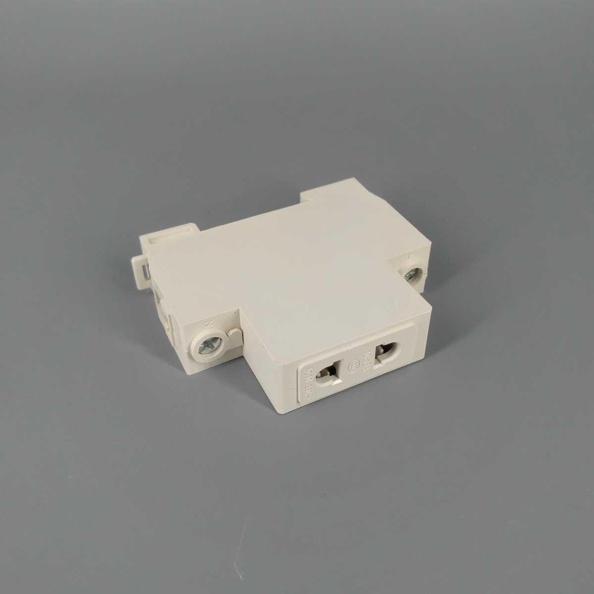 AC30 2 wtyk pinowy 35mm gniazdo modułowe do montażu na szynie Din 10-16A 250V