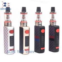 Txw xgs mini80w cigarro eletrônico vape mod built-in bateria com led enorme vaporizador vapor e cigarro kit eletrônico hookah