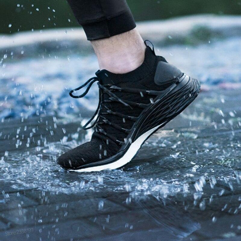Xiao mi mi jia chaussures 3 hommes en cours d'exécution sport Sneaker Composite mi dsole PU Stable couche de soutien épaisse éponge semelle intérieure confortable - 2