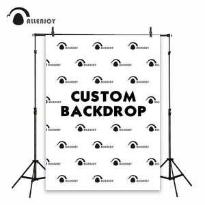 Allenjoy Banner Photography-Link Backdrop-Background-Size Shower Wedding-Photozone-Logo-Wall