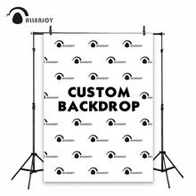 Allenjoy personalizar el fondo tamaño de fondo fiesta de cumpleaños para niños baby shower boda photozone logotipo para pared banner fotografía enlace