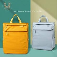 Модная сумка для мамы водонепроницаемый рюкзак молодой цвет