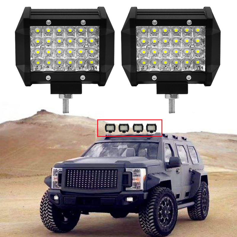 Offroad Led Bar Work Light 4x4 For Driving Offroad Boat Car Motorcycle Tractor Truck 4x4 SUV 12V 24V Ledbar Off Road Lights