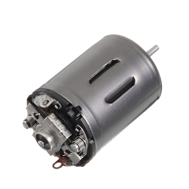 1Pcs New DC 6V 7.4V 9.6V 37500RPM High Speed Large Torque 370 Motor DIY RC Car Boat For Motor Parts Accessories