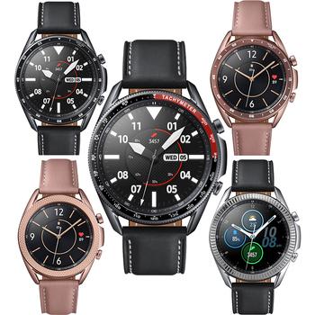 Metalowa ramka do Samsung Galaxy Watch 3 41mm 45mm osłona zabezpieczająca pierścień zderzak samoprzylepna obudowa Galaxy Watch 3 akcesoria tanie i dobre opinie samusak CN (pochodzenie) inny Paski do zegarków STAINLESS STEEL Nowość bez znaczków For Samsung galaxy watch 3 41mm 45mm