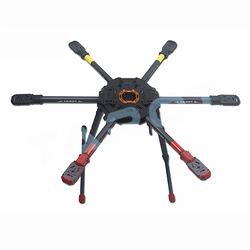 Tarot 810 TL810S01 Sport FPV 6-axis Hexcopter Foldable Frame with Electric Retract Landing Skid Upgrade Version of T810A