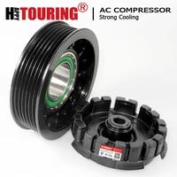 Embreagem do compressor da c.a. 7seu17c para volkswagen t5 transporter multivan amarok 2.0 tdi 7e0820803 7e0820803f 7e0820803j 7e0820803j 7e0820803a|compressor clutch|a/c compressor|clutch compressor -