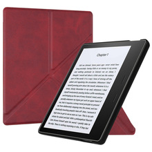 BOZHUORUI Case for Kindle Oasis (9th Generation, 2017 Releases Only) - Standing Origami Slim Shell Cover with Auto Wake/Sleep