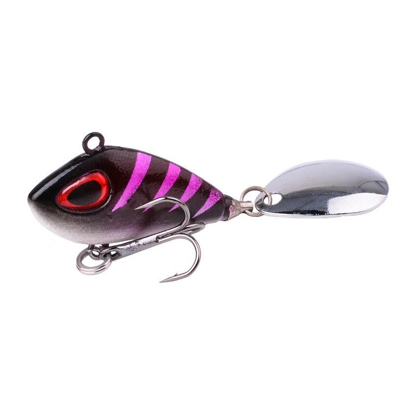 5x Sea Fishing Spoon Lure Metal Jigging Spoon Bait for Bass 3 Hook Silvery