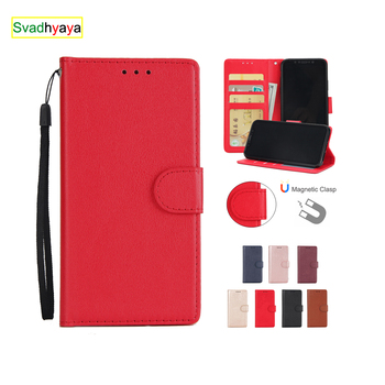 For Huawei Honor 6A 6C 6X 8A 8X 8S 9 10 20 Lite Y5 Y6 Y7 2018 Y9 2019 Case Magnetic Leather Flip Wallet Cover Mobile Phone Bag