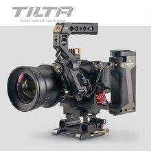 Tilta sigma gaiola da câmera para sigma fp sigma fp acessório da câmera dslr rig alça superior placa base de madeira punho