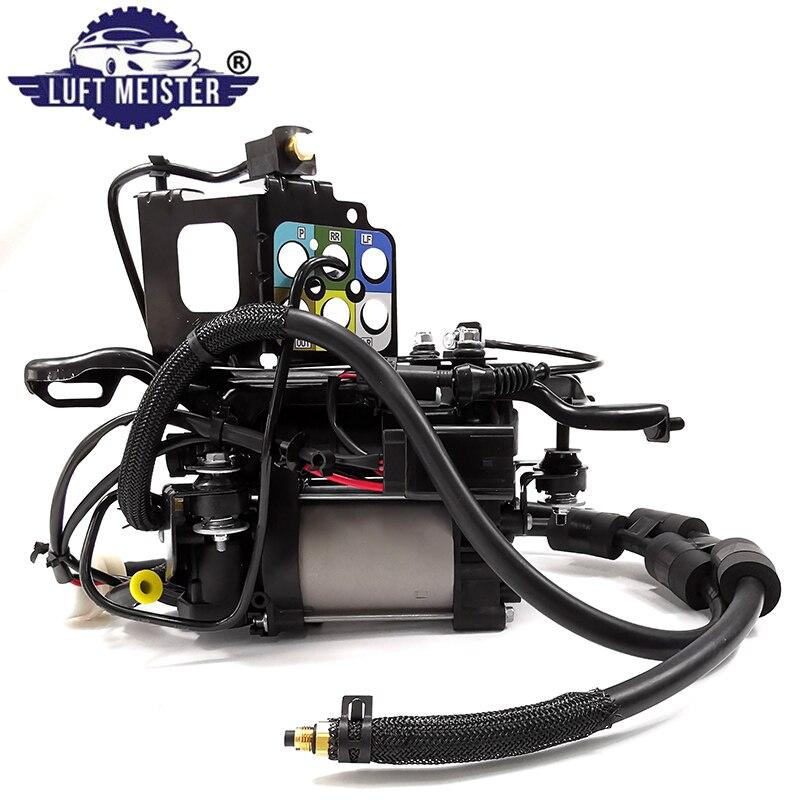 Пневматическая подвеска компрессор насос в сборе с кронштейном для Jeep Grand Cherokee 68232648AA 68204730AB 68204730AC 68041137AG