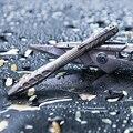 Тактическая ручка-карандаш из титанового сплава для самозащиты и выживания с многофункциональными инструментами для повседневного исполь...