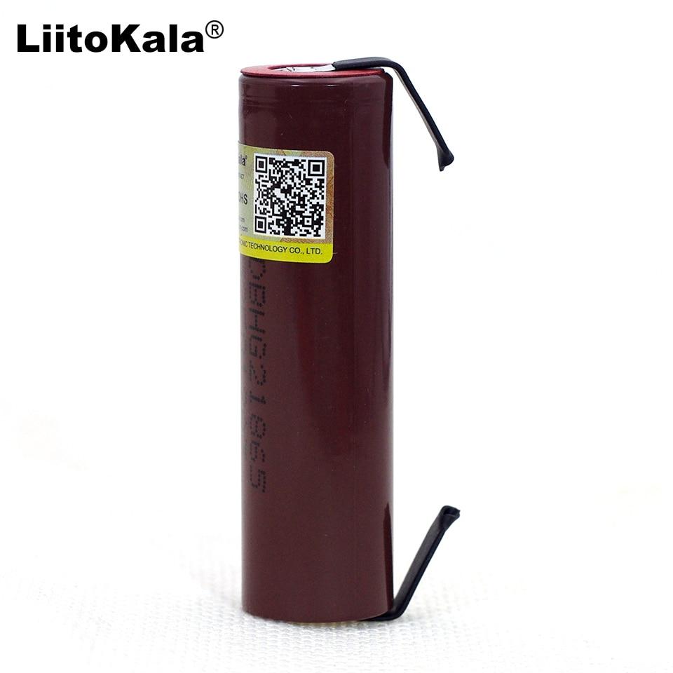 Liitokala neue HG2 18650 3000mAh akku 18650HG2 3,6 V entladung 20A, gewidmet Für hg2 batterien + DIY никель