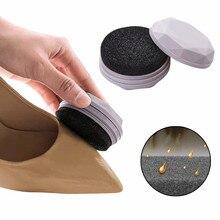Портативная двухсторонняя губка для чистки обуви, щетка для чистки, портативная легкая для обслуживания обуви, полировка, Прямая поставка#60