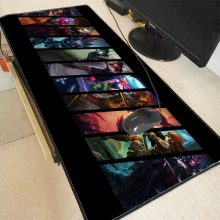 Mairuige League Of Legends Penguncian Edge Mouse Pad Gaming Mouse Pad Besar Anime Karet Alas Bantalan Mouse Keyboard Table Mat 11 Ukuran(China)